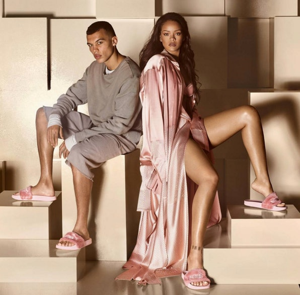 What Time Will Rihanna s Original Puma Slides Restock  You Can Shop At This  Hour 90b227b1762b
