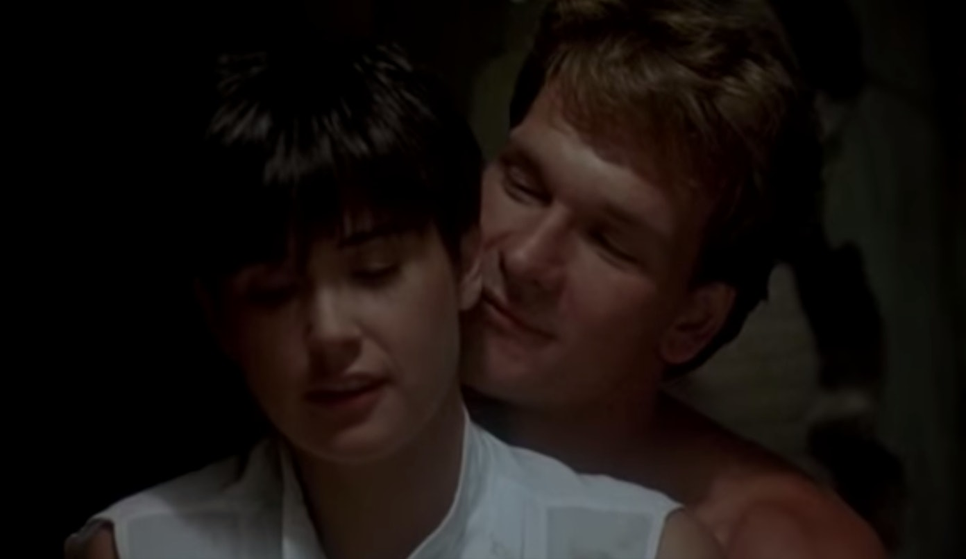 Sex scence out of ghost 1990