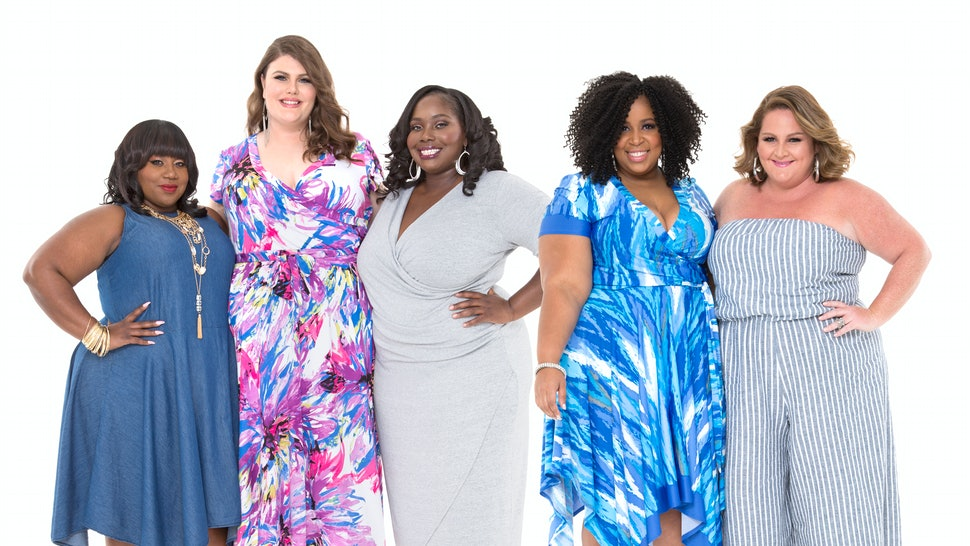 3fe543eb4d85 Ashley Stewart Just Extended Its Size Range Because Plus Size Women Don't  Stop At Size 26 — PHOTOS