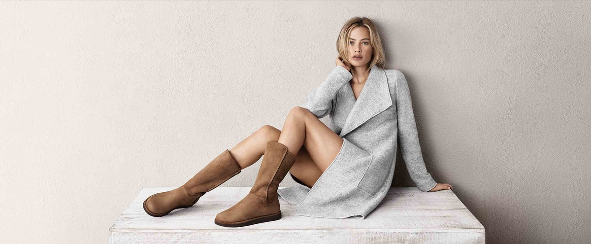 UGG Makes A Limited Edition Collection With Carolyn Murphy As Its Face For The First Time In 37 Years