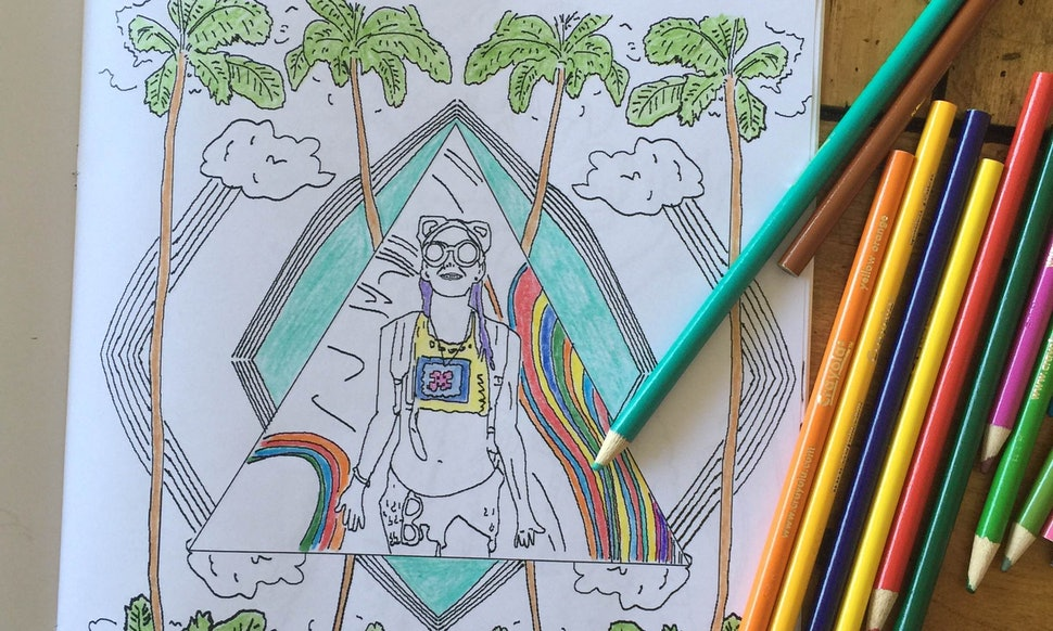 Color Me Book\' Makes Your Instagram Into An Adult Coloring Book ...