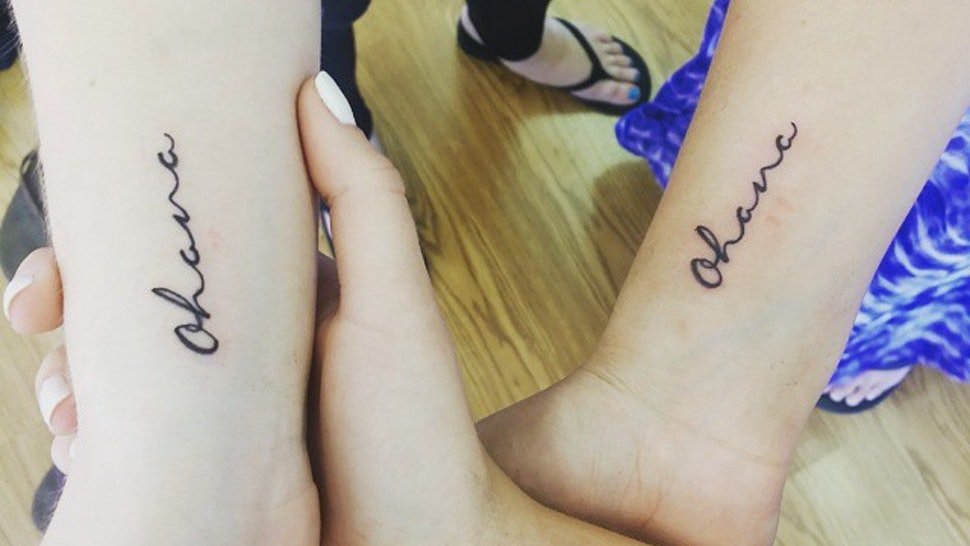 957629aa7 15 Tattoos For Sisters That Go Above And Beyond An Infinity Symbol Or A  Heart