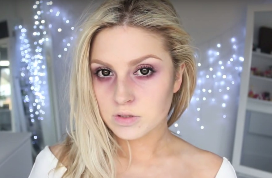9 Easy Scary Halloween Makeup Ideas For All You Lazy Girls