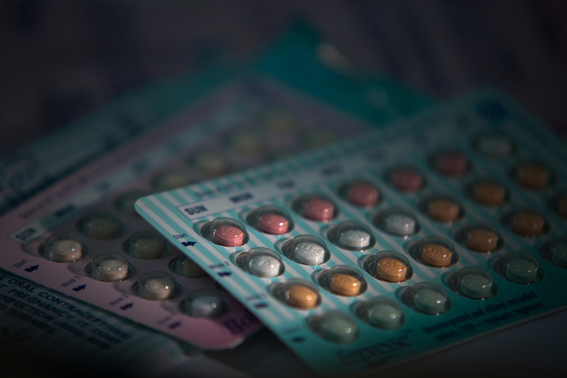 Birth control pills low sex drive