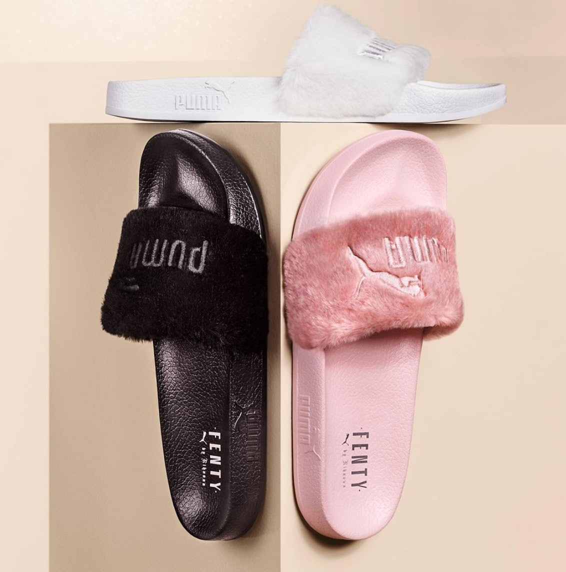 Can You Still Buy Rihanna Puma Fur Slides In Stores  Find Out Where They  Might Be b0e6fb0bbd