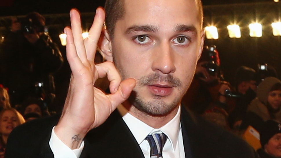 Shia Labeouf Mistook Dropping Acid For Doing Ecstasy Because