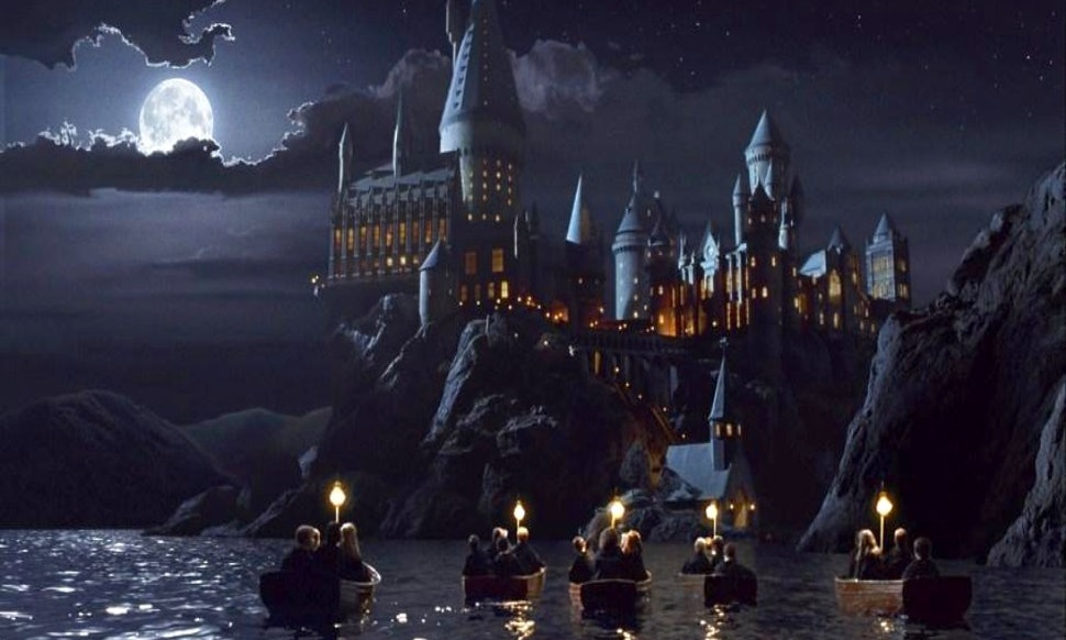 How To Draw Hogwarts Castle For Kids