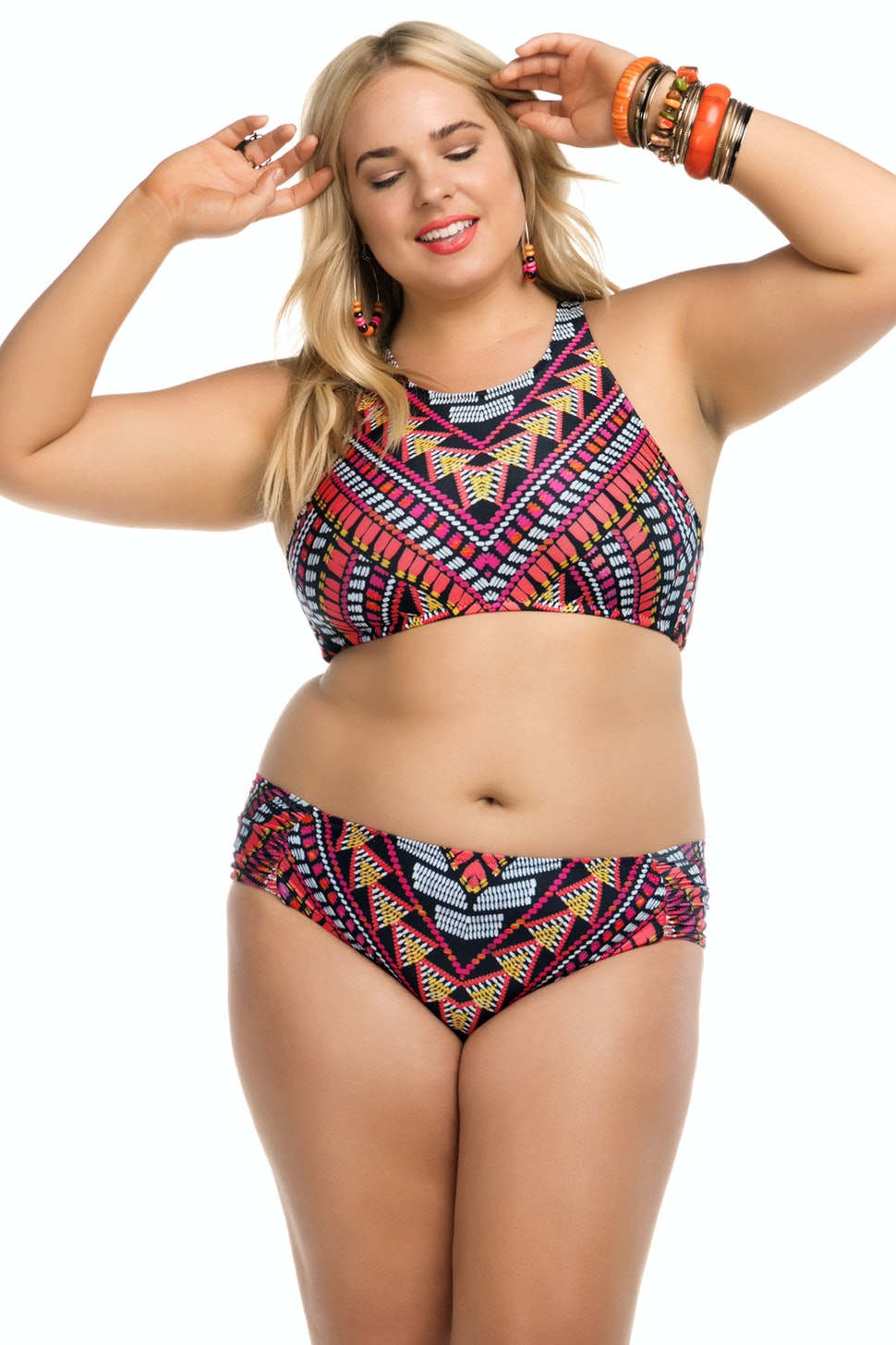 15 swimsuit styles for plus size women with small boobs