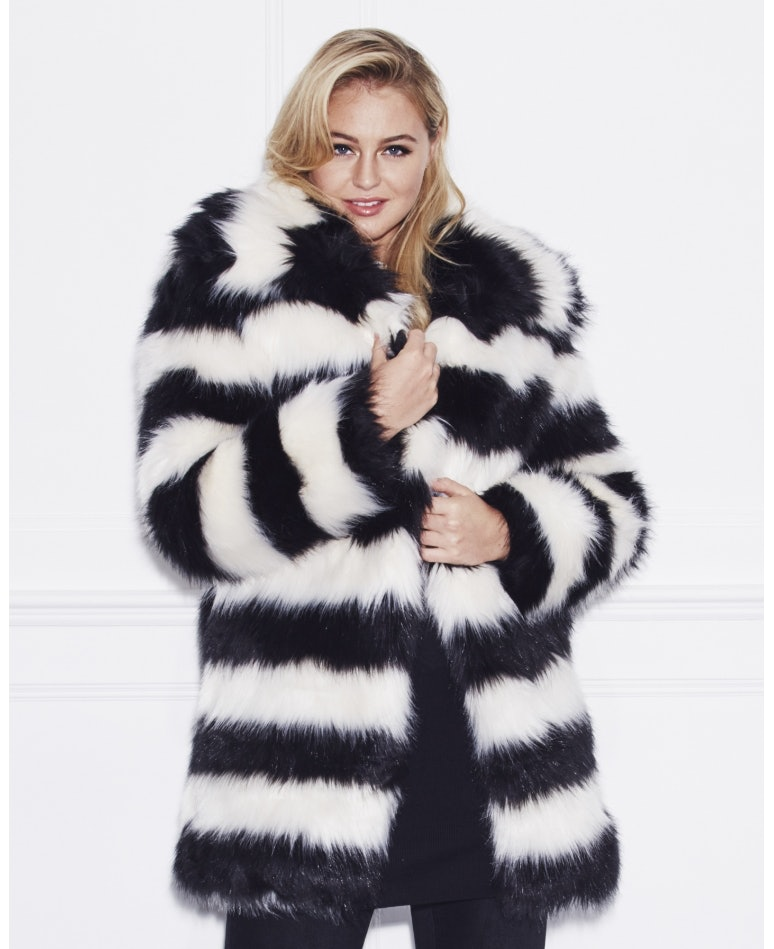 62c0b4d6275 17 Plus Size Faux Fur Coats To Help You Channel Your Inner Cookie Lyon This  Winter