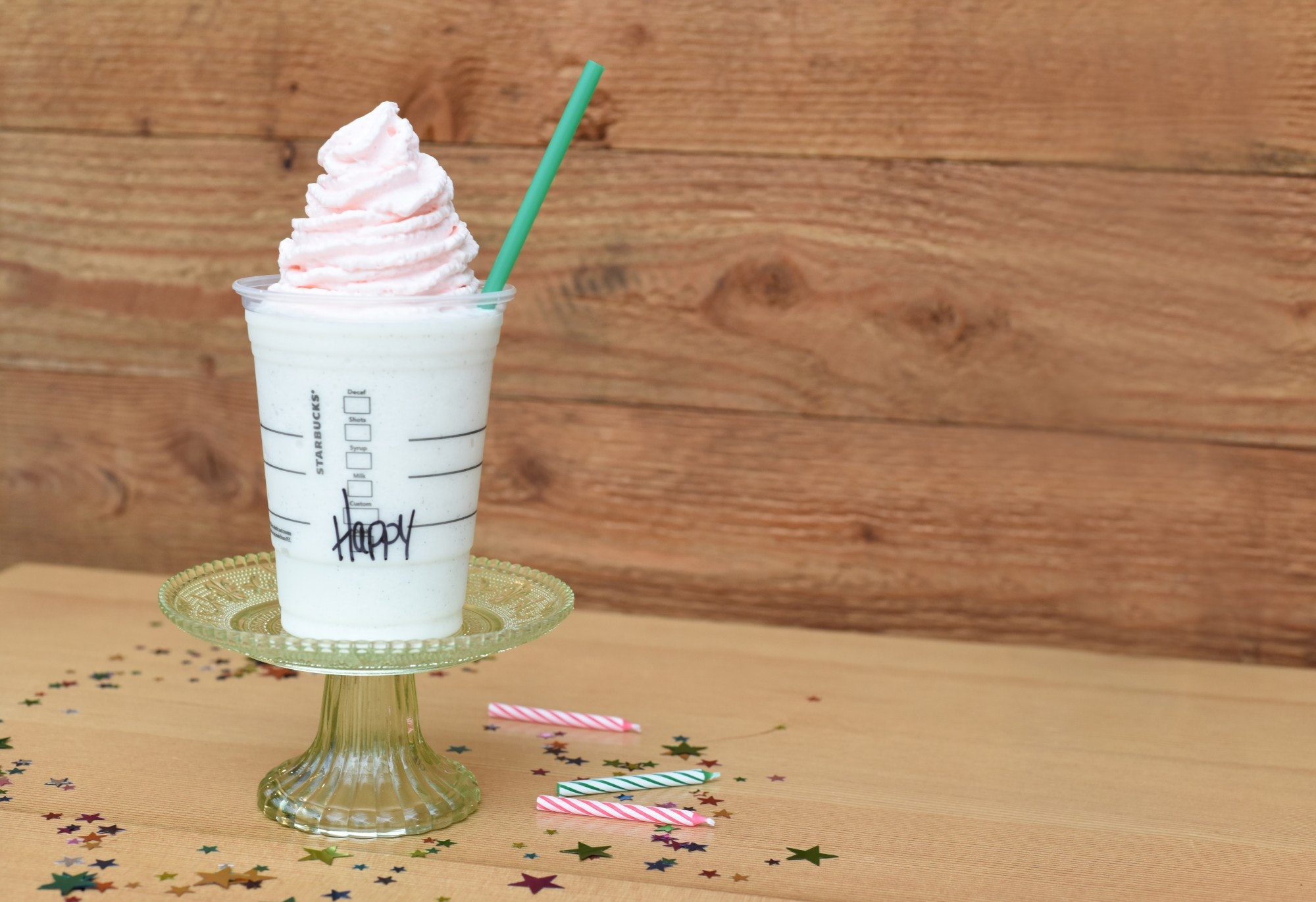Does The Starbucks Birthday Cake Frappuccino Have Caffeine We Did