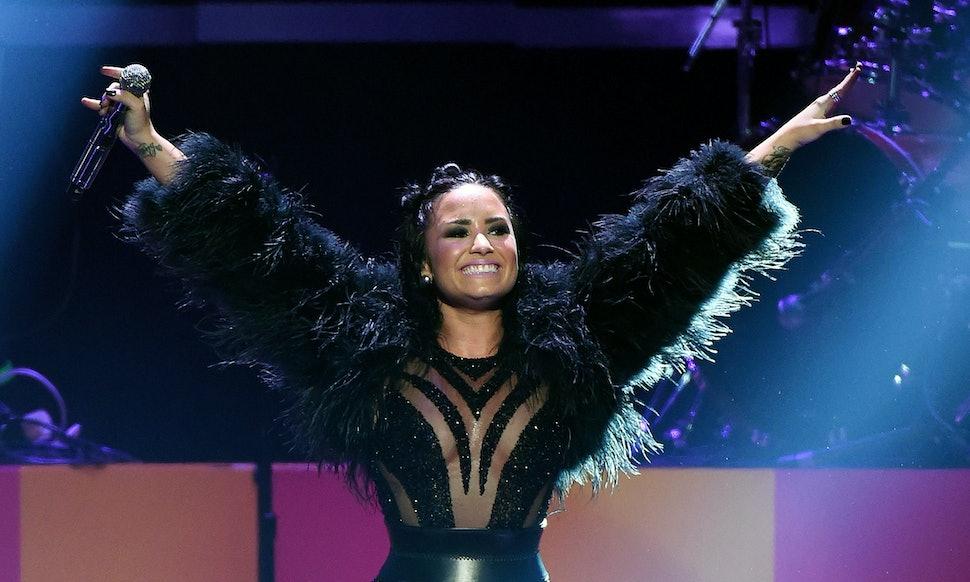 9 Ways Demi Lovatos First Nude Shoot For Vanity Fair
