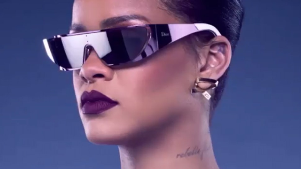 610197b593f7 Where To Buy Rihanna x Dior Sunglasses For All The Intergalactic Feels —  PHOTOS