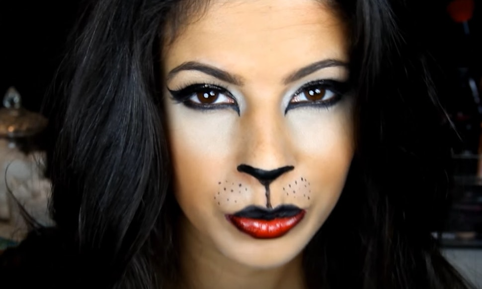 11 Easy Cat Halloween Makeup Tutorials For Every Type Of Kitty Videos