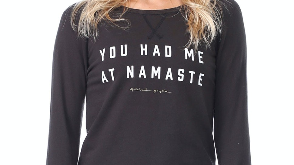 0195d322 20 Shirts Anyone Who Loves Yoga Will Want In Their Closets Right Now