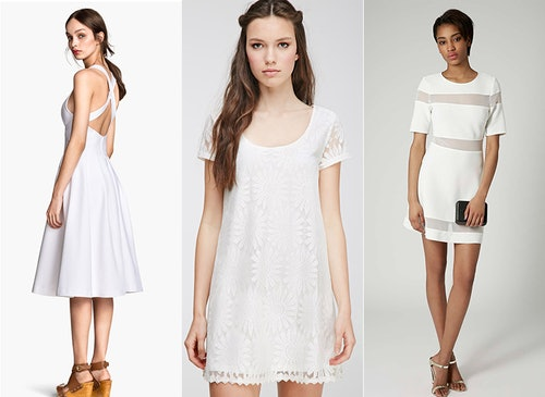 c7c653901a0 25 White Graduation Dresses Under  100 That Will Make You Want To Shed The  Cap And Gown ASAP