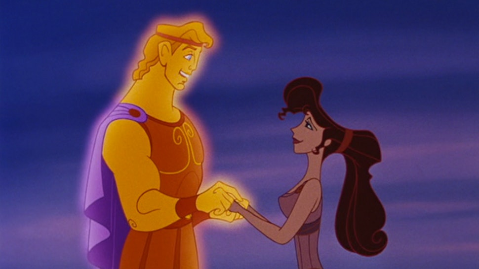 Once Upon A Time Casts Hercules Meg A Disney Couple That