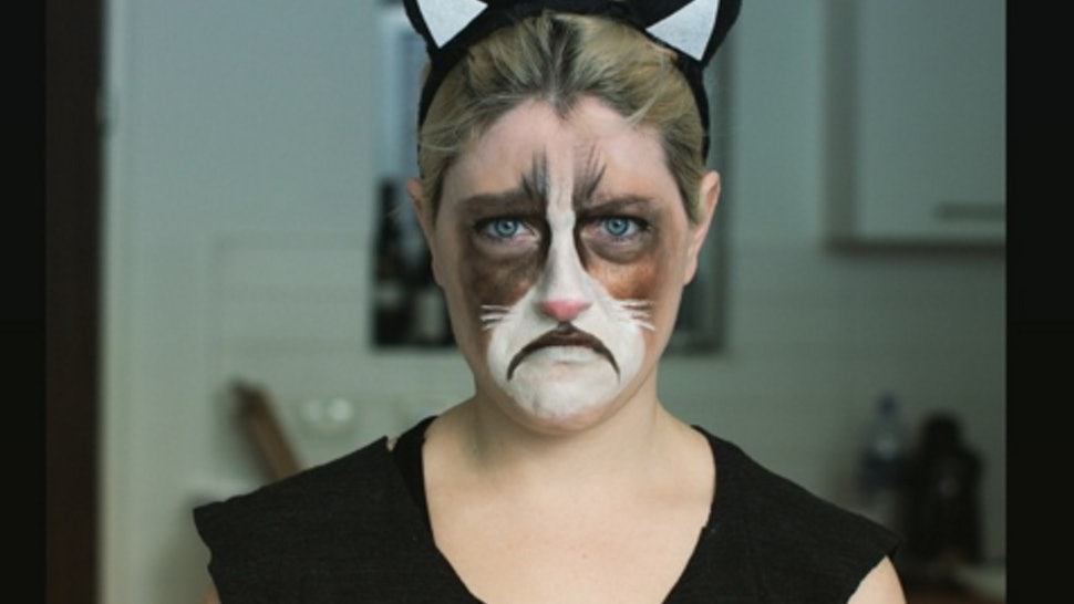 1da393ba330 21 Cat Halloween Costume Ideas That Take Your Outfit To The Next Level
