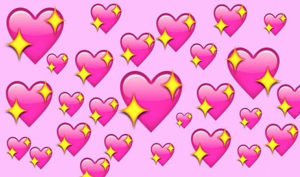 what does each emoji heart mean  instagram breaks it down double heart clip art black and white double heart clip art black and white