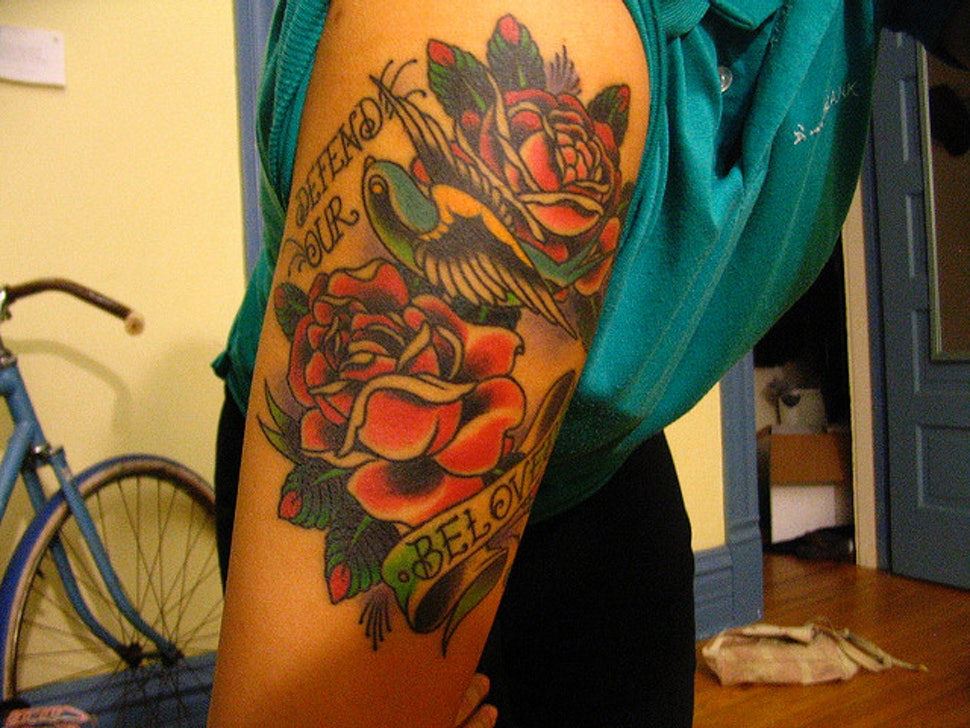 What Does A Tattoo Of A Rose Mean Because There S A Lot More