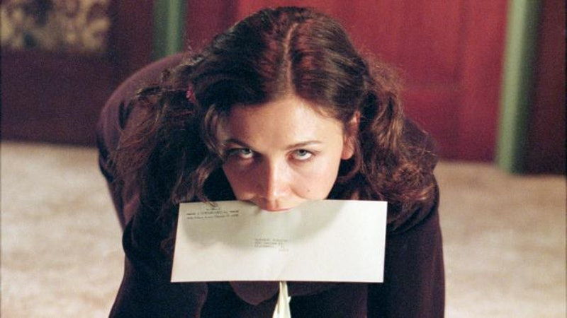 """The 2002 film """"Secretary"""" is one of many erotic films you can stream online."""