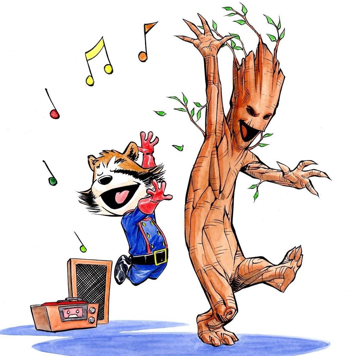 Why Guardians Of The Galaxy S Groot Rocket Should Be The New