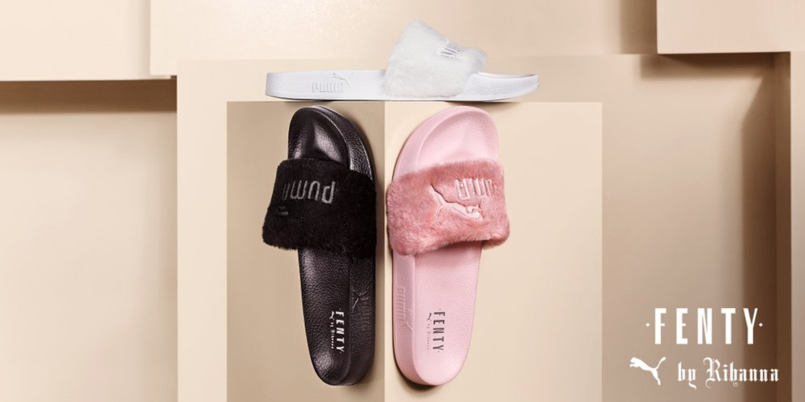 Will Rihanna Puma Fur Slides Be Restocked  Here s What We Know 037b34d333ea