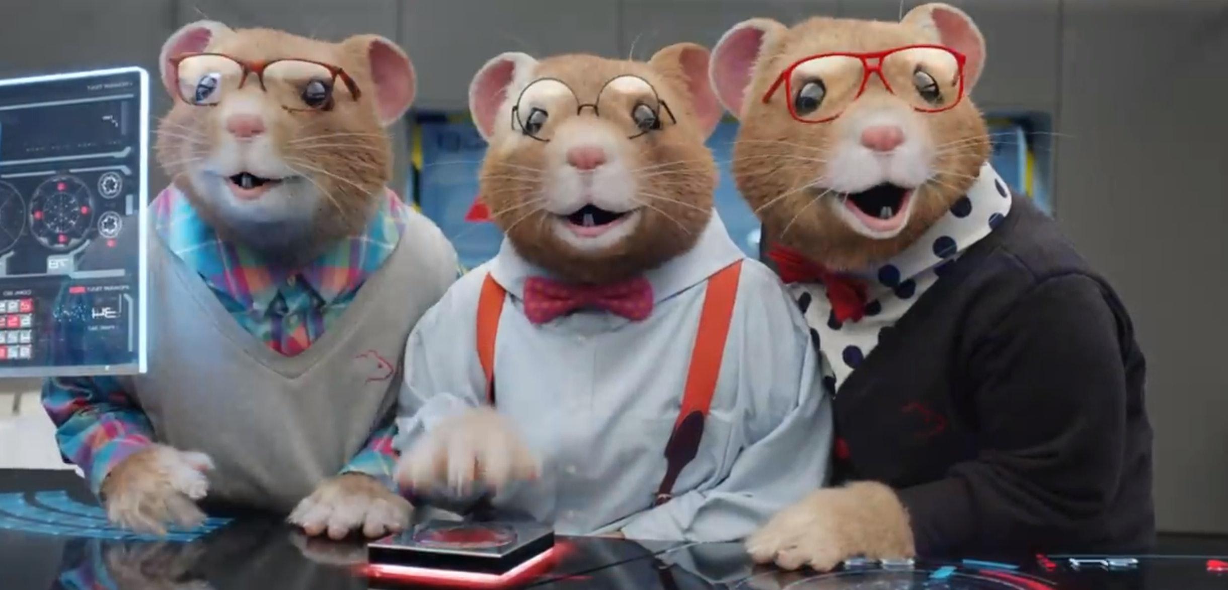 Kia Ad With Scientist Hamsters Is Super Creepy U2014 VIDEO