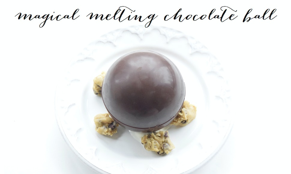 How To Make A Melting Chocolate Ball For The Ultimate Dessert Video