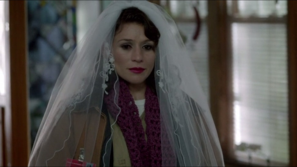 Orange Is The New Black Wedding.Why Is Morello In Prison Orange Is The New Black Season 2 Holds