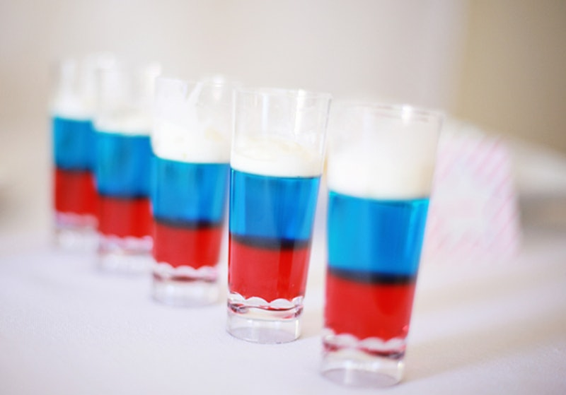 How To Make Red, White, & Blue Jello Shots For Fourth Of July