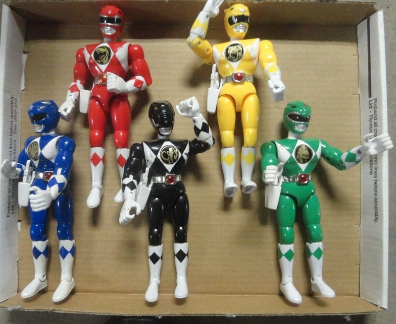 How Much Are Old Power Rangers Toys Worth They Were The Most Popular Toy To Give For Christmas In 1994 And They Re Still Going Strong