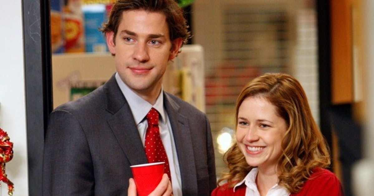 did jim and pam dating in real life