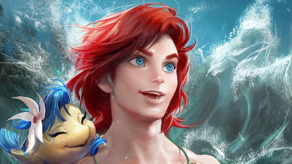 Artist Sakimi Chan Gender-Flips Disney Characters, Makes You