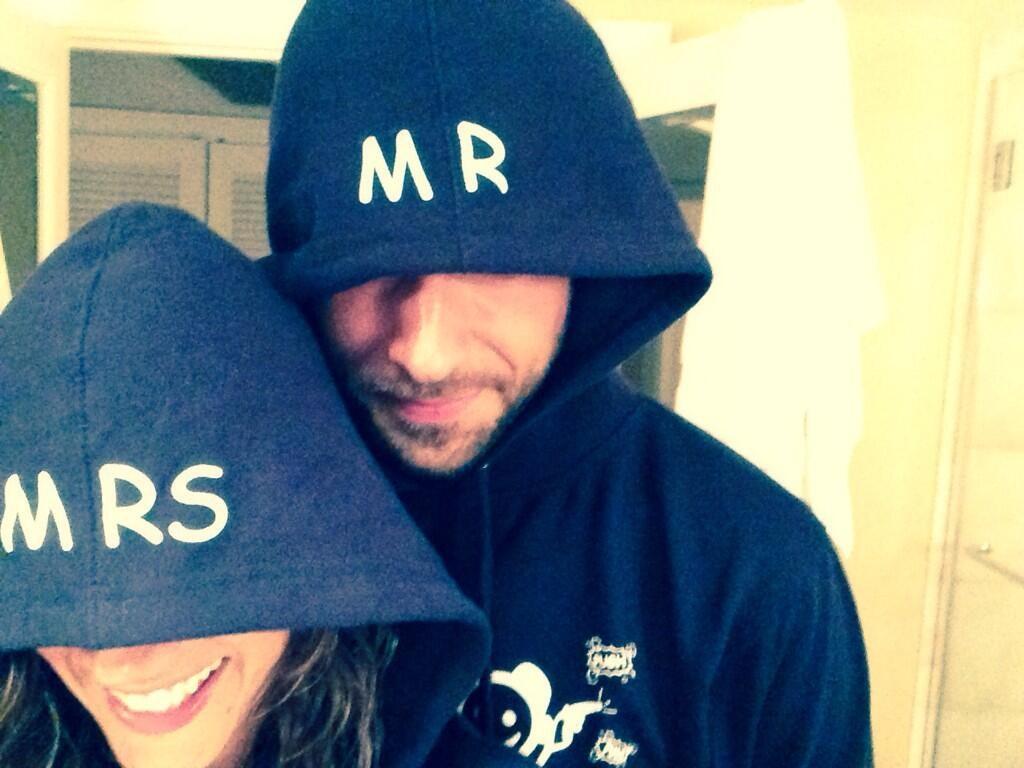 Missy peregrym og Zachary Levi Start Dating