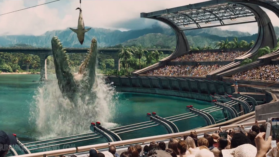 Is 'Jurassic World's Water Dinosaur Real? Details About The