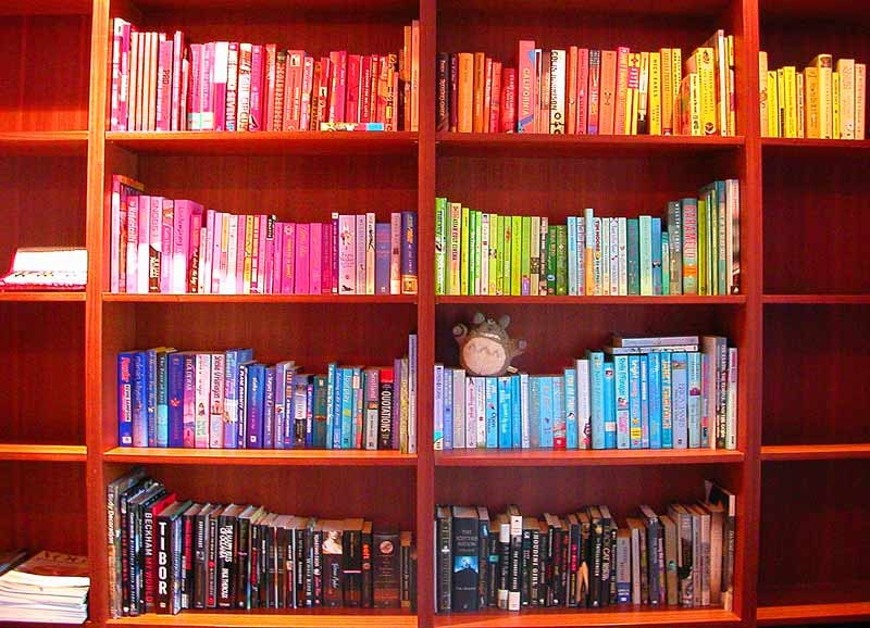 What Your Bookshelf Says About Personality