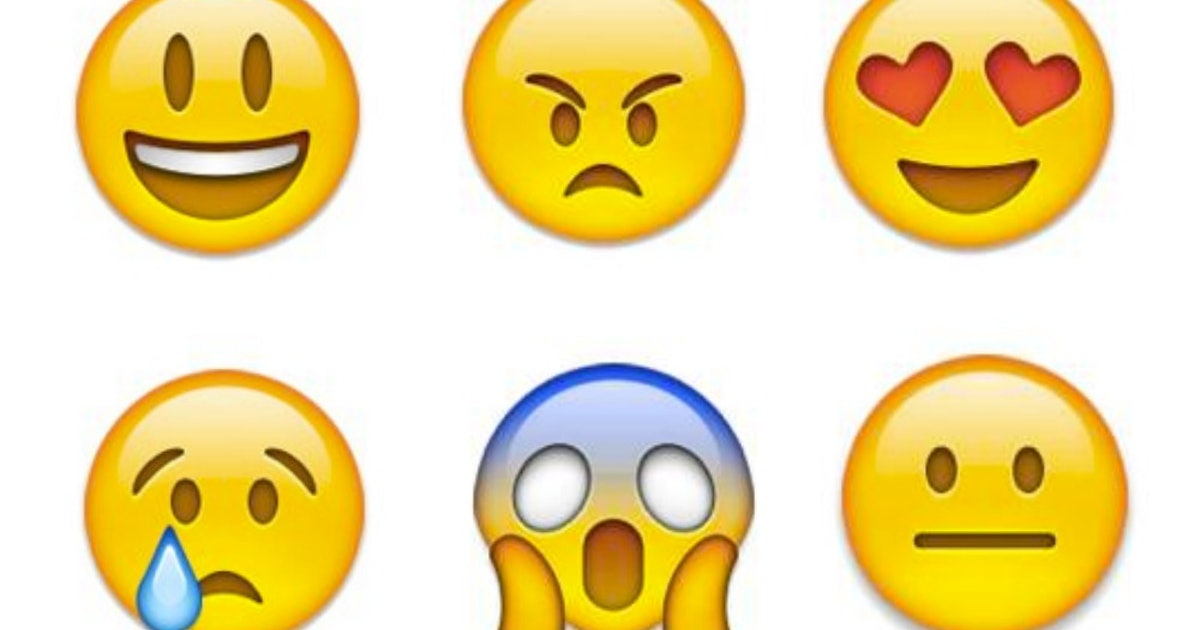 What Do All The Face Emoji Mean? Your Guide To 10 Of The Most Common
