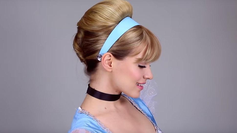 11 Disney Princess Hair Tutorials For