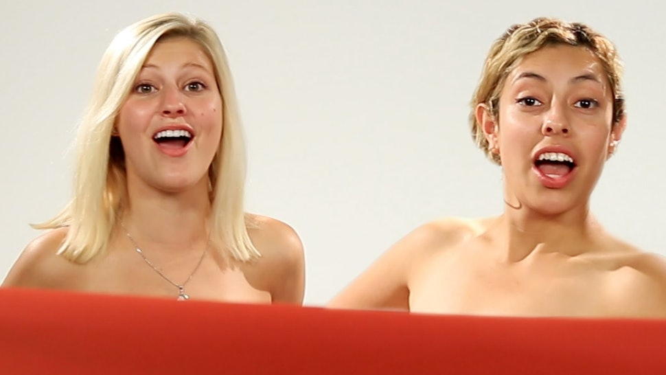 Best Friends See Each Other Naked For The First Time -6233