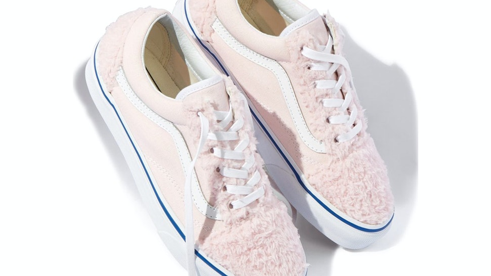 fca42844845 Where To Buy Nordstrom x Vans' Furry Sneakers, Because They're Nothing Like  You've Ever Seen