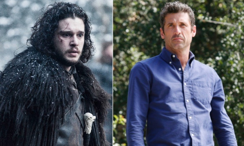 Game Of Thrones\' Jon Snow Vs. Derek Shepherd From \'Grey\'s Anatomy ...