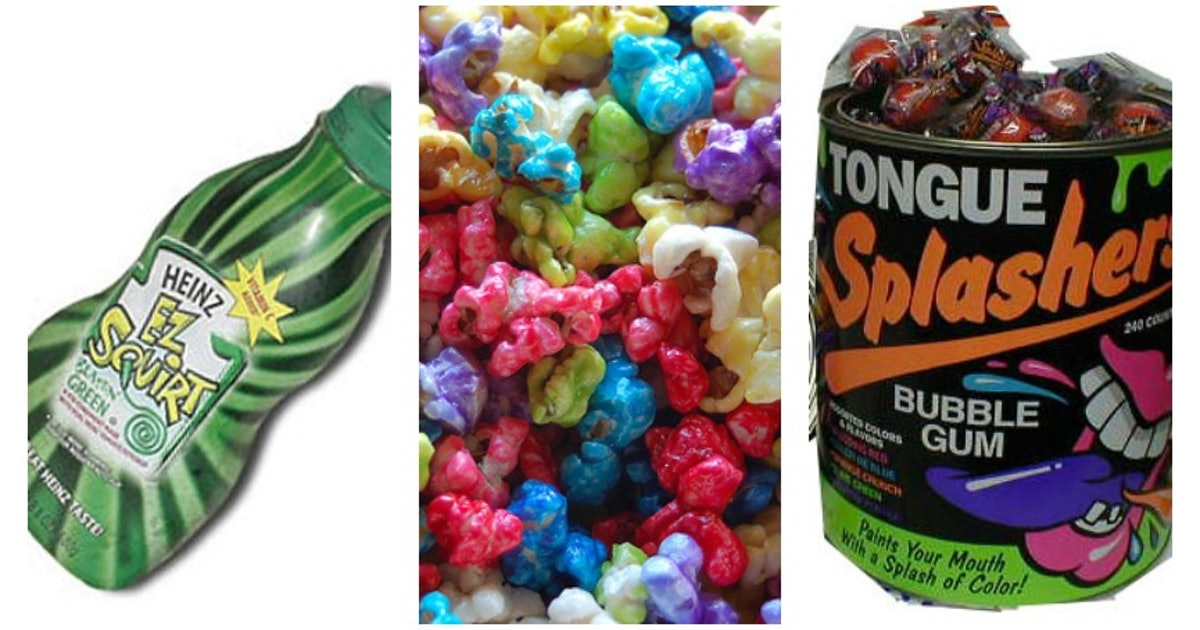 7 Gimmicky Foods From Your Childhood