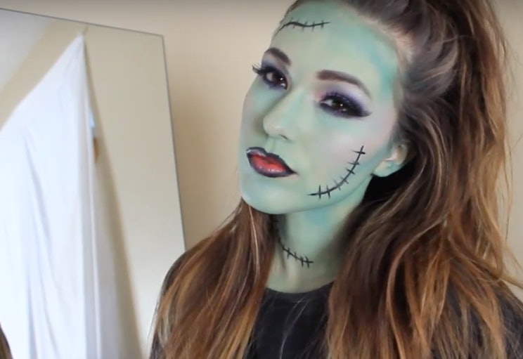 15 easy halloween makeup ideas thatll inspire you this spooky holiday videos