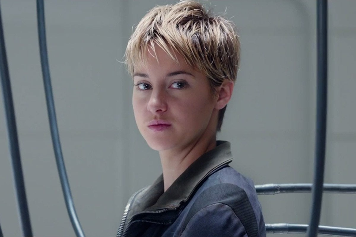 photo Shailene woodley aka tris from divergent