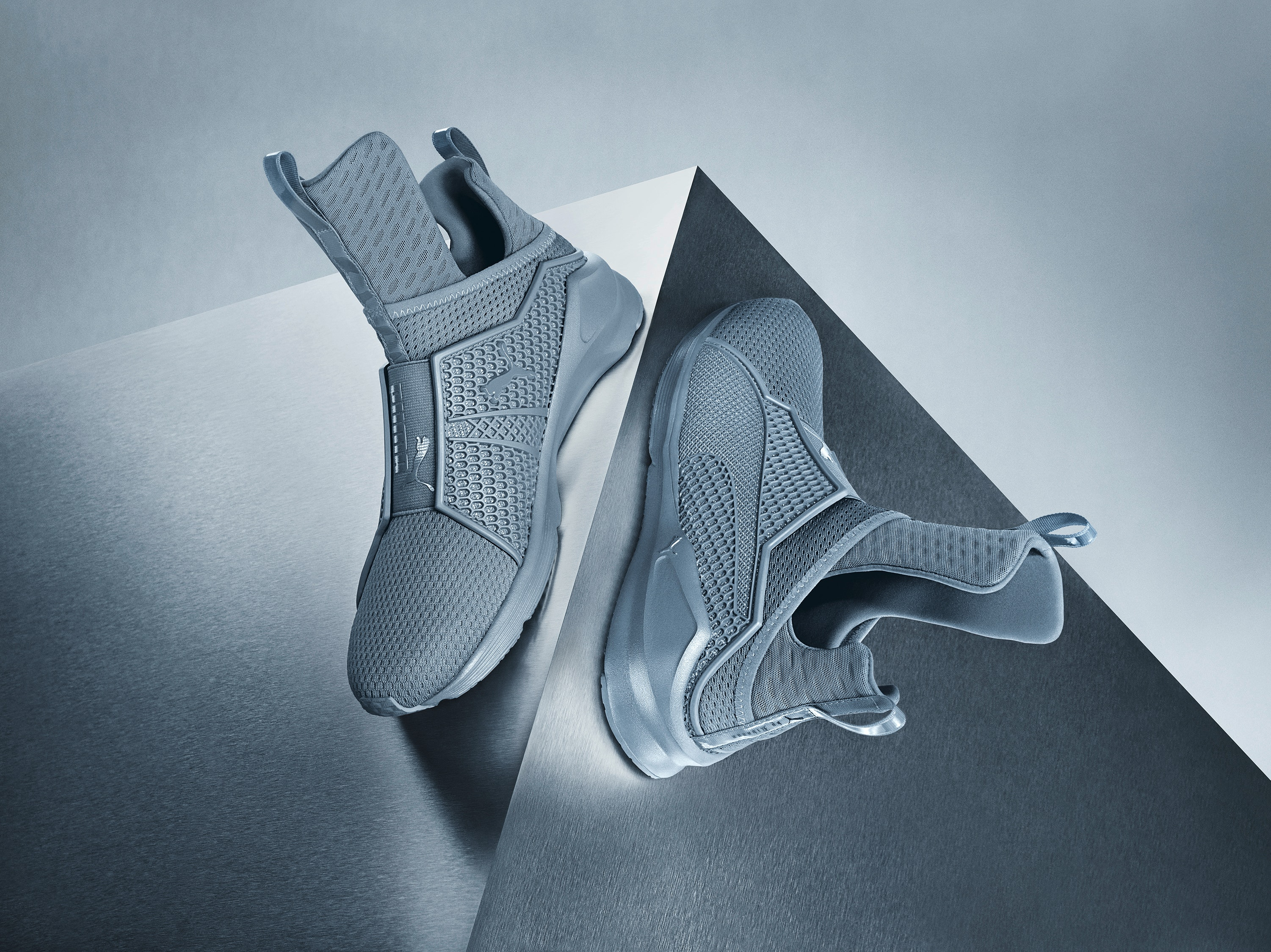 52fe4597999 How Much Are The Grey Rihanna x Puma Fenty Trainers  Here s What You Need  To Know