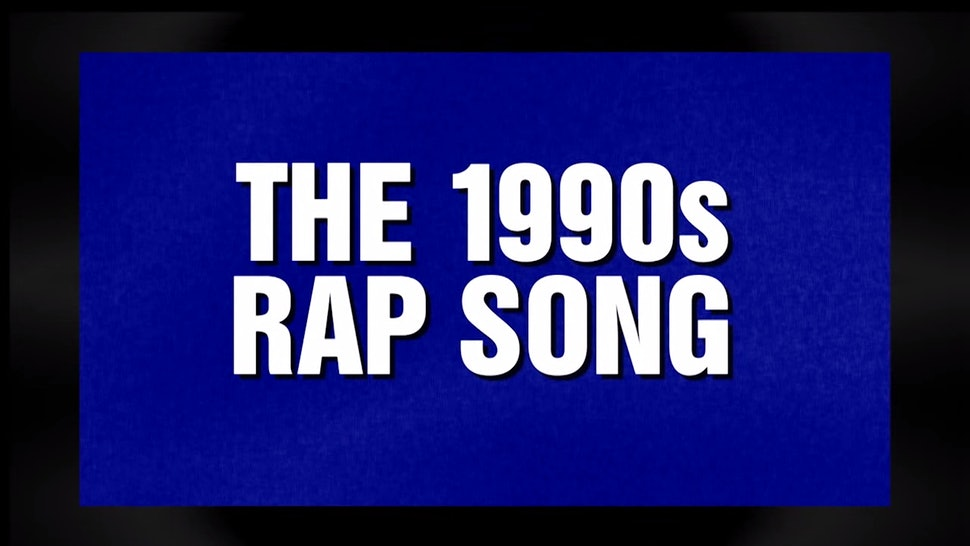 Jeopardy's '90s Rap Category Proves You Really Can Make Money Off