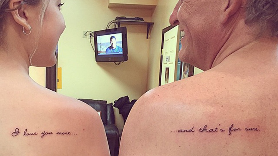 11 Father Daughter Tattoos That Would Make A Great Bonding Experience