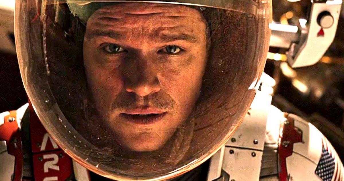 A pierdut de fapt Matt Damon în greutate pentru marțian?