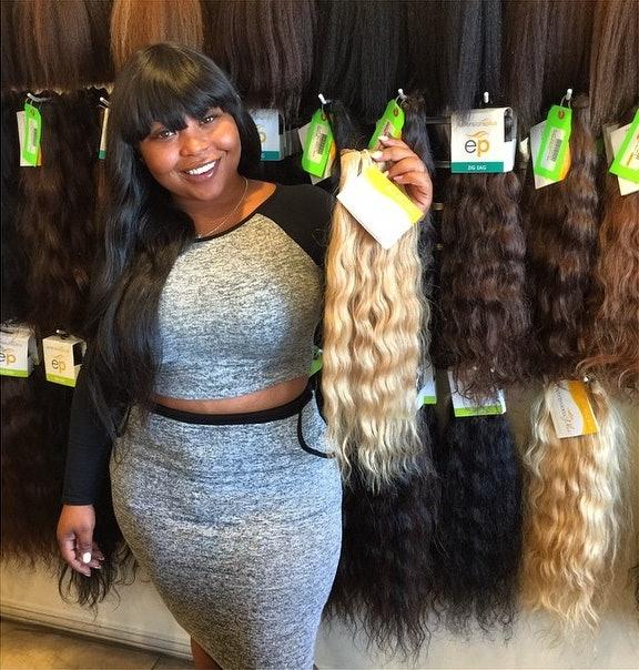 Who Is Shekinah Anderson Tiny Shekinahs Weave Trip Lets Tinys