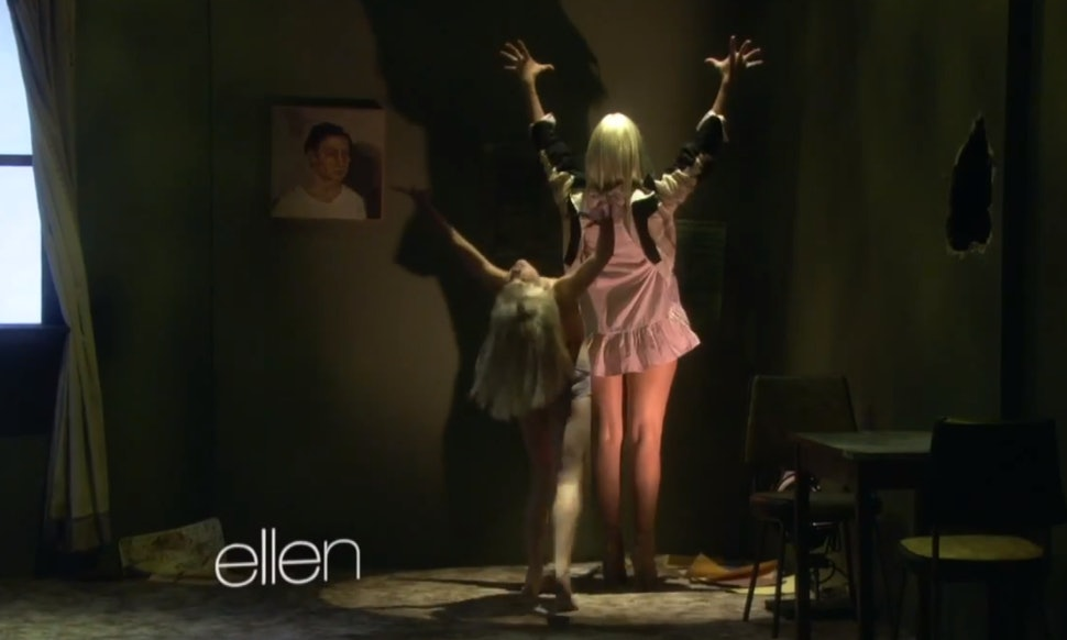 10 moments in sia maddie zieglers chandelier performance on 10 moments in sia maddie zieglers chandelier performance on ellen that will give you chills video aloadofball Choice Image
